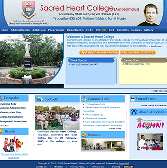 Boscosoft - Sacred Heart College